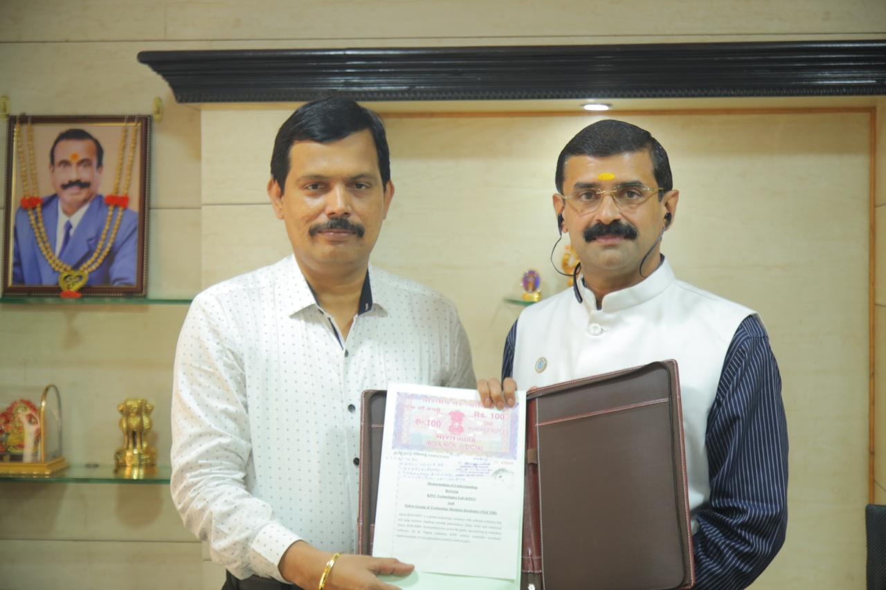 Memorandum of Understanding (MoU) with KPIT Sparkle Technologies!!
